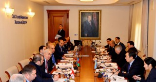 Prospects of Trans-Caspian international transport route discussed in quadrilateral meeting in Baku