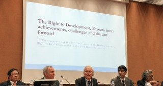 Panel discussions on right to development held in Switzerland