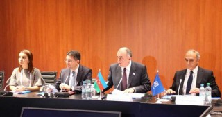 Azerbaijani FM chairs GUAM Ministerial Meeting in Hamburg