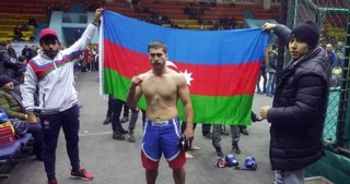 Azerbaijani MMA fighter crowned world champion
