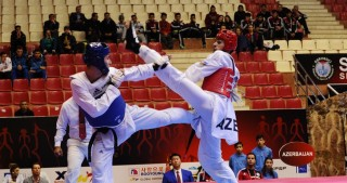 Azerbaijan`s Harchegani claims gold at World Taekwondo Grand Prix