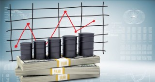 Oil prices on world market