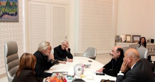 Azerbaijan`s Minister of Culture and Tourism meets well-known Russian ballet dancer
