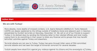 U.S. Azeris Network launches Turkey support campaign