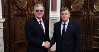 Azerbaijan`s Consul General meets Chairman of Legislative Assembly of Saint Petersburg