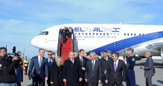 Prime Minister of Israel Benjamin Netanyahu arrives in Azerbaijan for working visit
