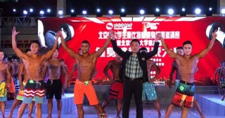 Azerbaijani student wins fitness model competition in Beijing