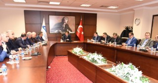 Azerbaijani Media representatives visit Turkish Grand National Assembly and Anadolu Agency