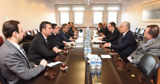 Azerbaijan`s leading media heads hold meetings at Ministry of Foreign Affairs of Turkey