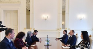 President Ilham Aliyev received delegation led by Bulgarian Vice-President