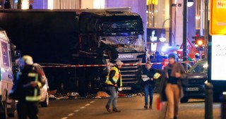 Truck ploughs into crowd at Berlin Christmas market, 12 dead