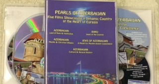 Collection of CDs featuring documentary films on Azerbaijan released in Los Angeles