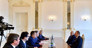 President Ilham Aliyev received parliament speakers of Turkey, Kazakhstan and Kyrgyzstan