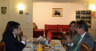 CEO of EFE agency visits Azerbaijan`s Embassy in Spain