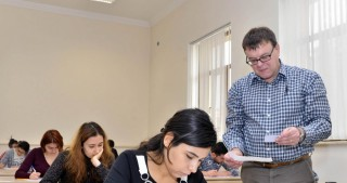 British experts administer winter term exams at Baku Higher Oil School