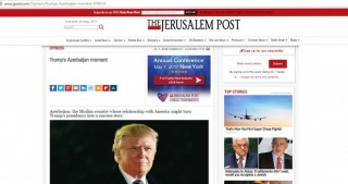 The Jerusalem Post: Trump`s Azerbaijan moment