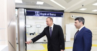 "President Ilham Aliyev attended opening of ""ASAN Kommunal"" Center No1 in Baku"