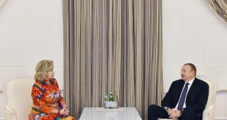 President Ilham Aliyev received Russian Commissioner for Human Rights