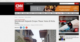 CNN Indonesia portal highlights tourism potential of Azerbaijan