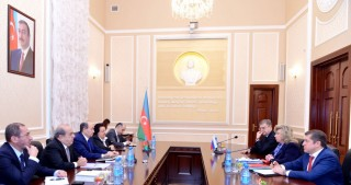 Azerbaijani Minister of Justice meets Russian Commissioner for Human Rights