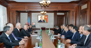 Chairman of Nakhchivan Supreme Assembly meets with Iran's Minister of Information and Communications Technology