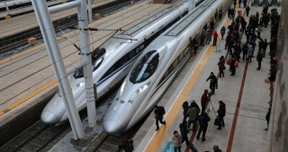 China launches longest high-speed train service