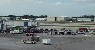 Several victims reported shot at US airport