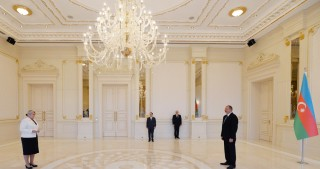 President Ilham Aliyev received credentials of incoming Ambassador of Finland