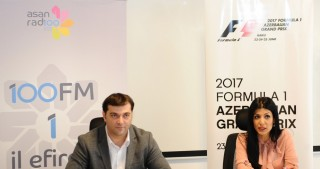 Baku City Circuit, ASAN Radio sign memorandum of cooperation