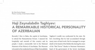 "Malaysian ""The Globalist"" magazine publishes article about Azerbaijan`s well-known historic figure"