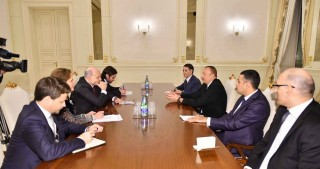 President Ilham Aliyev received a delegation led French Minister of State for Ministry of Foreign Affairs and International Development