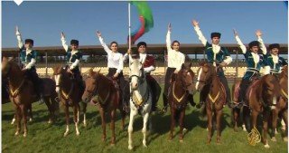 Al Jazeera broadcasts video about Karabakh horses