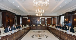 OSCE Monitoring Committee co-rapporteurs visit Azerbaijan`s Parliament