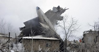 Cargo plane crashes near Bishkek: 32 dead, 4 injured