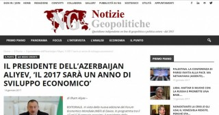 President Ilham Aliyev's article in spotlight of Italian media