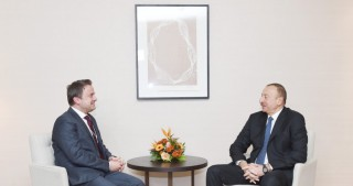 President Ilham Aliyev met with Prime Minister, Minister of State of Luxembourg Xavier Bettel