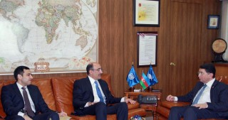 Azerbaijan`s Minister of Culture and Tourism meets Secretary-General of UNWTO