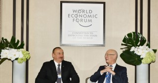 President Ilham Aliyev met with Executive Chairman of the World Economic Forum Klaus Schwab