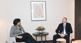 President Ilham Aliyev met with corporate vice president of Worldwide Public Sector at Microsoft