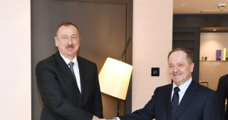 President Ilham Aliyev met with head of Iraqi Kurdistan Regional Government