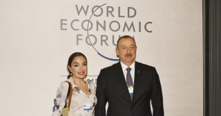 Vice-President of Heydar Aliyev Foundation visits Congress Center of World Economic Forum