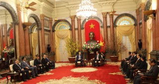 Vietnamese President hails his country`s relations with Azerbaijan