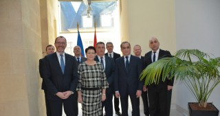 Azerbaijan`s achievements discussed in Luxembourg