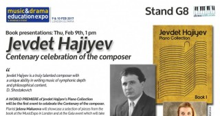 Piano Collection by Azerbaijani composer Jevdet Hajiyev to be launched in London