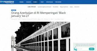 Indonesian news portal highlights 20 January tragedy