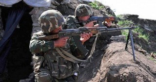 Armenian armed units violated ceasefire with Azerbaijan 30 times throughout the day