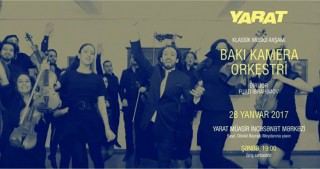 YARAT Contemporary Art Space to host musical evening with Baku Chamber Orchestra