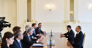 President Ilham Aliyev received delegation led by Director General of European Commission