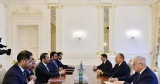 President Ilham Aliyev received delegation led by Qatari Foreign Minister