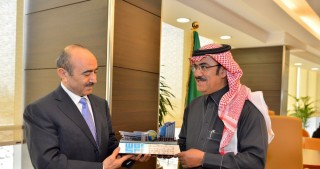 Azerbaijan`s President's Assistance for Public and Political Affairs meets President of Saudi Press Agency